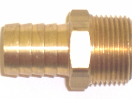 Straight Brass Fitting, 50-512-019