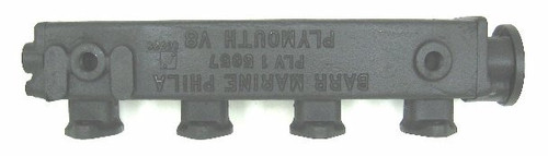 Chrysler Exhaust Manifold Port (1966 and earlier),CM-1-5665L