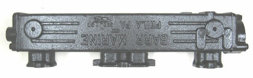 GM Exhaust Manifold Log Style (348 & 409),CHVA-1-58R