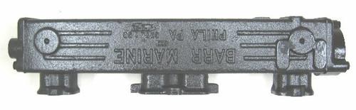 GM Exhaust Manifold Log Style (348 & 409),CHVA-1-58L