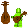 Minifigure Instrument - Lute
