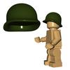 Minifigure Helmet - US M1 Helmet