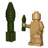 Custom Minifigure Explosives - Mortar Shell