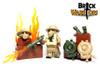 Custom LEGO® Helmet - British Gas Mask