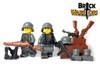 Custom Printed LEGO® Torso - German Rifleman