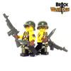 Custom LEGO® Minifigure - Female US Soldier Arm Printing
