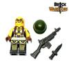 Custom LEGO® Minifigure - Female US Soldier