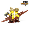 Custom LEGO® Minifigure - Female US General Arm Printing