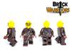 Custom LEGO® Minifigure - Human Assassin Custom Printing Views