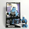 Custom LEGO® Minifigure - Ice Witch with Collector Card