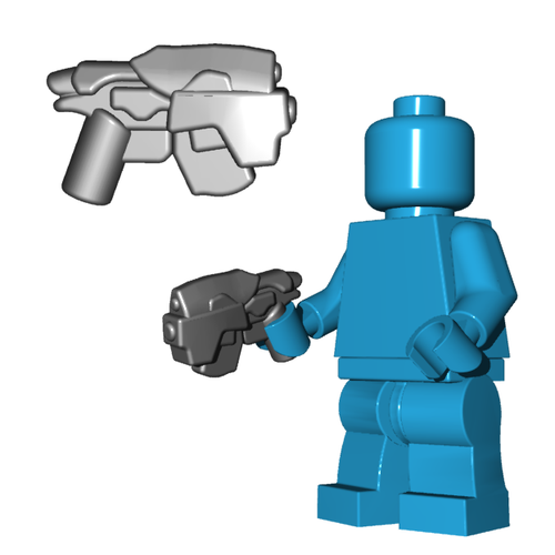 Minifigure Gun - Head Hunter Pistol