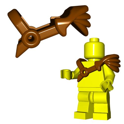 Minifigure Armor - Gladiator Pauldron