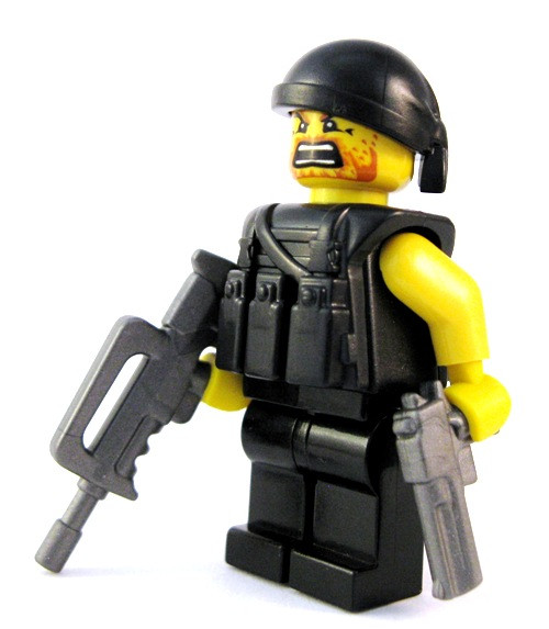 Minifigure Guns - French Assault Rifle
