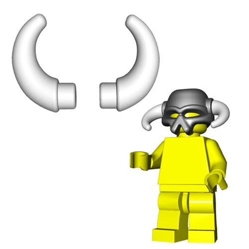 Minifigure Horns - Crescent Horns (Pair)