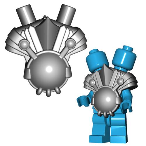Minifigure Armor - Ogre Armor