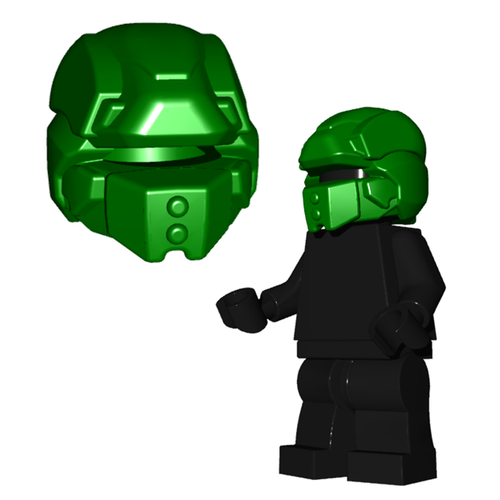 Minifigure Helmet - Galaxy Enforcer Helmet