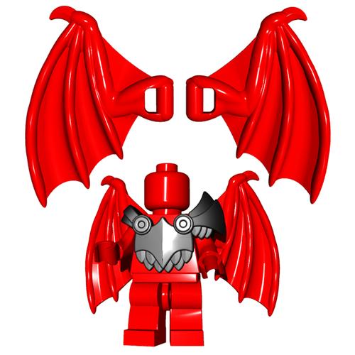 Minifigure Wings - Dragon Wings