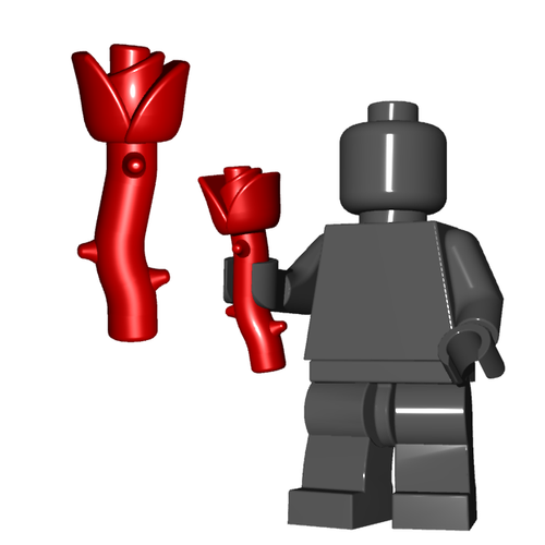 Minifigure Accessory - Poison Rose