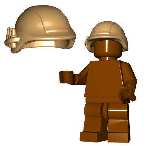 Minifigure Helmet - Military Helmet