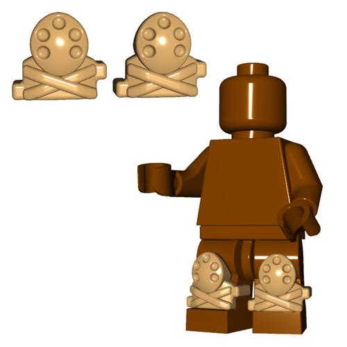 Minifigure Armor - Knee Pads