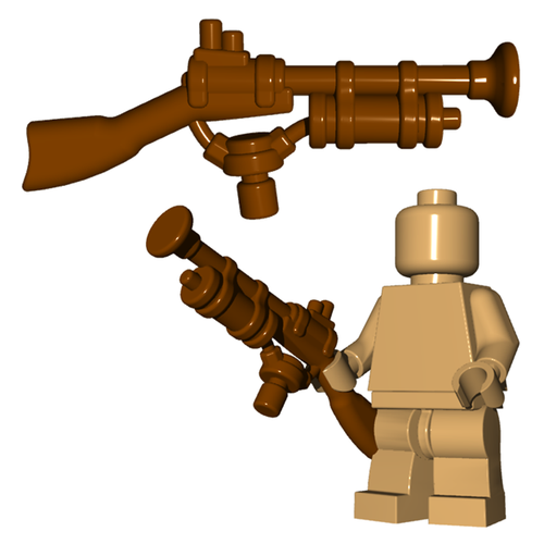 Minifigure Gun - Steampunk Rifle