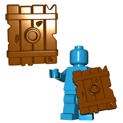 Minifigure Shield - Goblin Shield