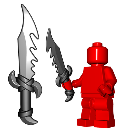 Minifigure Weapon - Dragon Sword