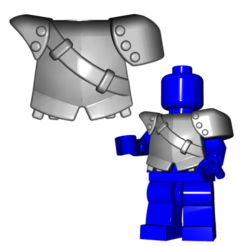 Minifigure Armor - City Watch Armor