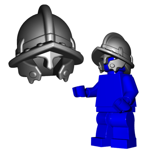 Minifigure Helmet - City Watch Helmet