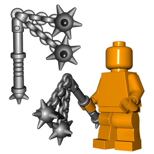 Minifigure Weapon - Double Flail