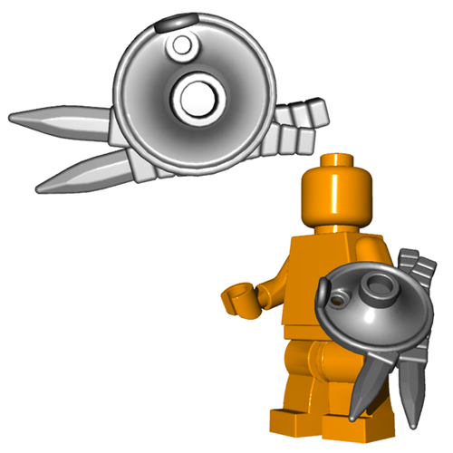 Minifigure Shield - Lantern Shield