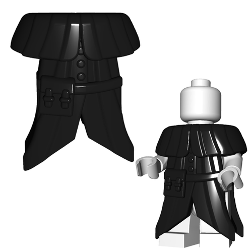 Minifigure Armor - Plague Doctor Coat