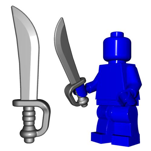 Minifigure Sword - Pirate Cutlass