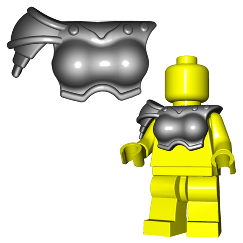 Minifigure Armor - Gladiatrix Armor