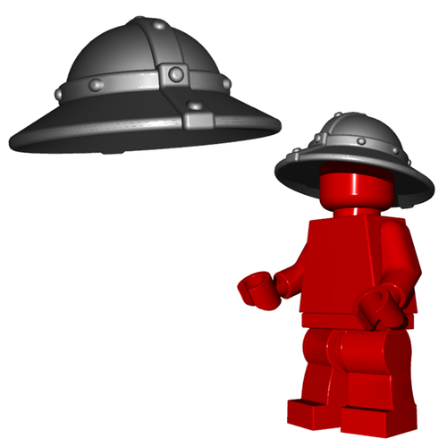 Minifigure Helmet - Kettle Helm