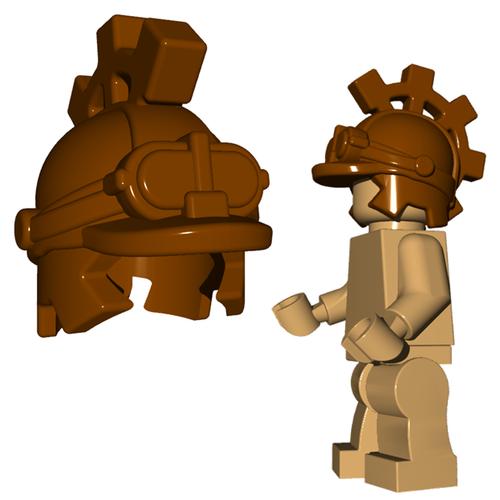 Minifigure Helmet - Steampunk Helm