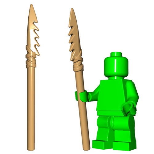 Minifigure Weapon - Bone Spear