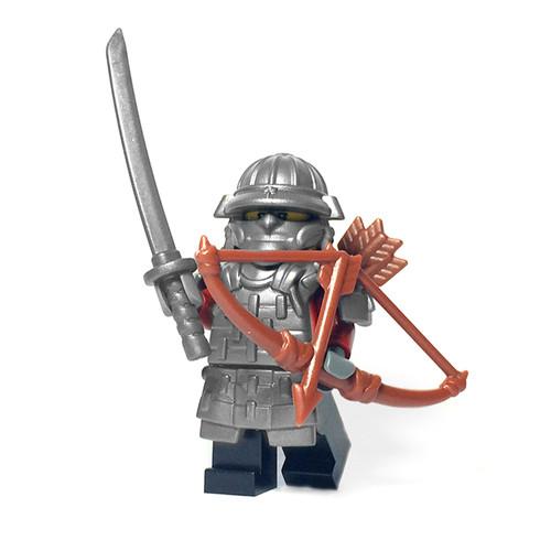 Custom LEGO® Minifigure - Samurai