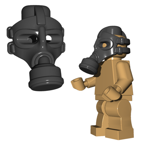 Minifigure Helmet - Gas Mask