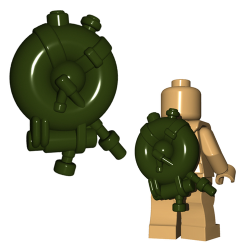 Minifigure Accessory - British Flame Tank