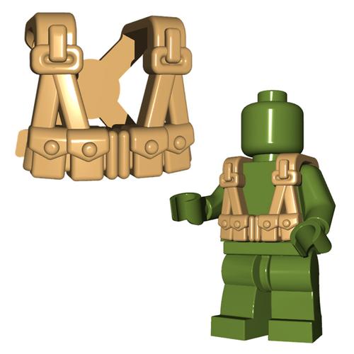 Minifigure Armor - US Infantry Suspenders