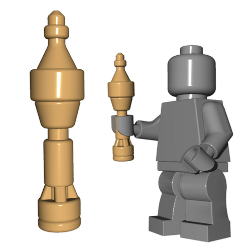 Custom Minifigure Weapon - Panzerschreck Rocket