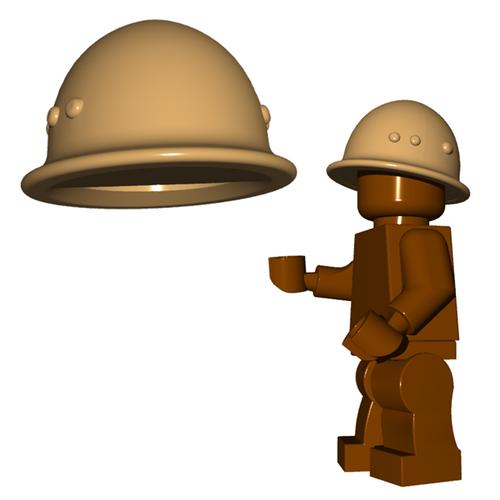 Minifigure Helmet - Japanese Helmet