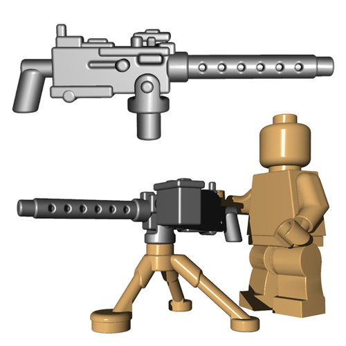 Custom Minifigure Gun - US Air Cooled MG