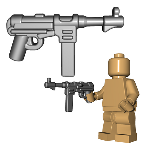 Minifigure Gun - German SMG