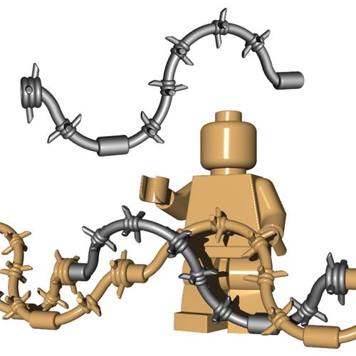 Minifigure Accessory - Barbed Wire