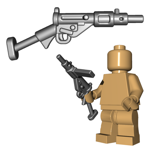 Minifigure Gun - British SMG