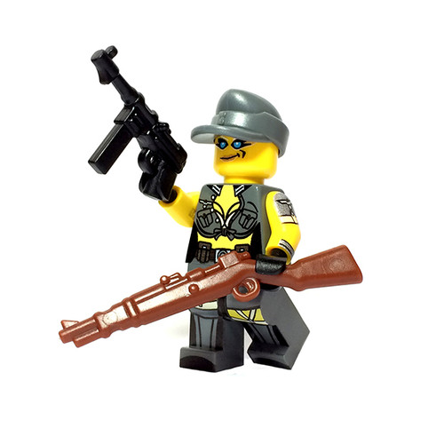 Custom LEGO® Minifigure - Female German Soldier