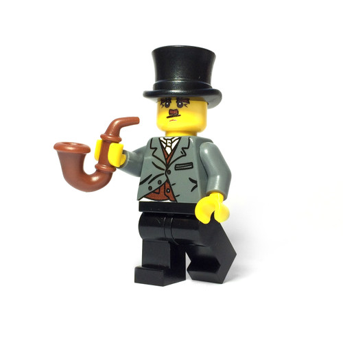 Custom LEGO® Minifigure - Silent Film Star