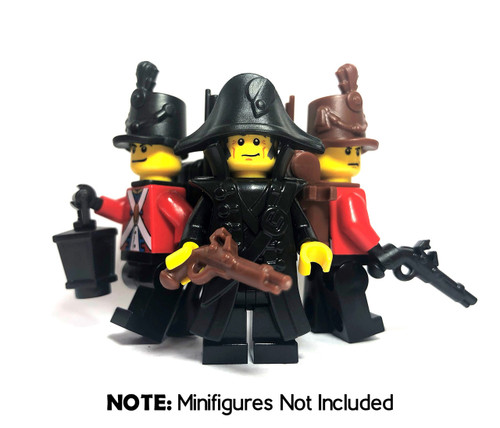 BrickWarriors Colonial Soldier Minifigure Accessories